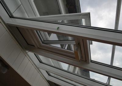 Bild Spannrahmen Insektenschutz in Dachluke