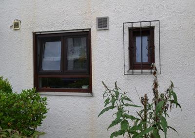 Bild Spannrahmen über zwei Fenster